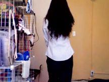Troietta cinese in webcam