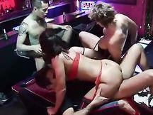 Orgia in uno Strip Club