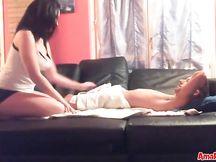 Massaggio con pompino per il fidanzato