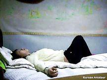 Sesso amatoriale per giovane coppia coreana