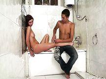 Chiavata nella vasca da bagno