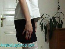 Biondissima lap dancer amatoriale