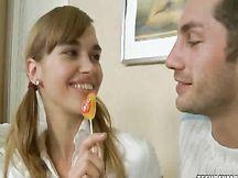 Sesso amatoriale con la fidanzatina