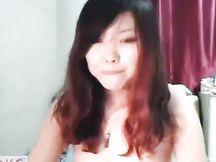 Bella teen coreana in webcam