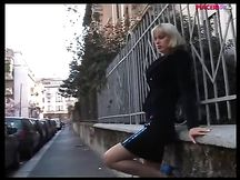 Escort italiana bionda