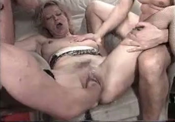 image Fisting his submissive gfs wrecked pussy