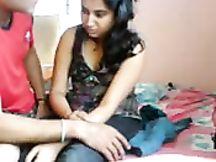Ragazza di Bombay carina ama il sesso in cam