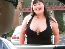 Pompino da prostituta asiatica cicciona