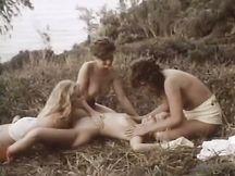 Quartetto lesbo estremamente eccitante