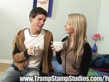 Filmato amatoriale giovane coppia spagnola