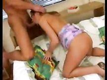 Video porno - ninfomane fottuta in bocca