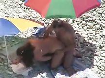 Trombata in spiaggia a Camogli