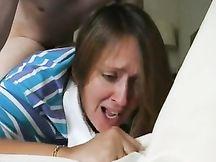 La prima inculata dolorosa di mia moglie