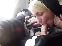 Pompino sull'aereoplano