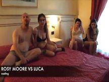 Rosy Moore e il casting del geometra Luca