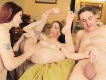 Il porno di Diprè con Violet Monroe e Anna de Ville