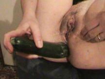 Come gode quando la zucchina entra tutta