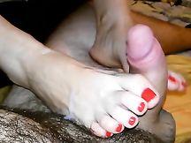 Sega coi piedini