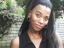 Studentessa ebony fottuta