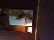 Coppia Giocosa che scopa in un Motel