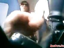 Pompino in auto da milf di Napoli (dialogato)