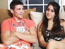 Primo video porno di una giovane coppia
