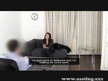 Casting porno per bruna francese