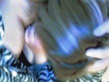 Italiana bionda fa pompino prima di dormire