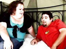 Rossa amatoriale obesa