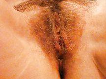 La fica bagnata e pelosa della mia signora