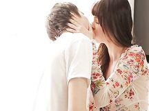 Coppia teen raggiunge l'orgasmo