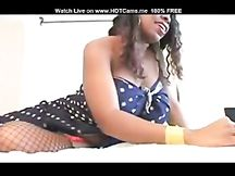 Ebony super tettona in cam