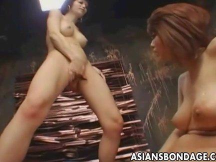 nipponico lesbica bondage sesso peloso nero pusdy