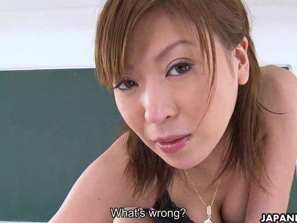 Nipponico insegnante studente sesso