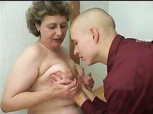 Nonna russa scopata