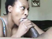 Pompino da matura cicciona nera