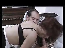 Sesso con la donna delle pulizie romena